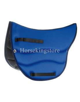 Endurance Saddle pad Burioni TexTech+Sympa Royal Blue