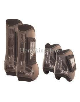 Anatomic tendon boots and fetlock boots