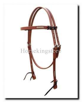 Leather Headstall Raica