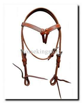 Leather Headstall for Pony Wëkraes