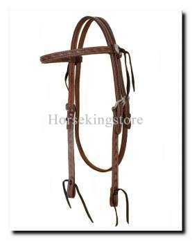 Leather Headstall Markael