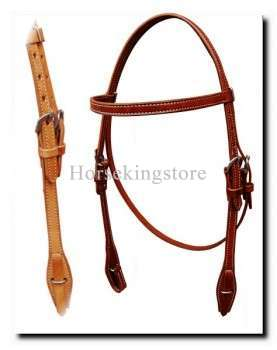 Leather Headstall Duske