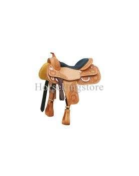 Saddle POOL'S GENUINE REINER 555