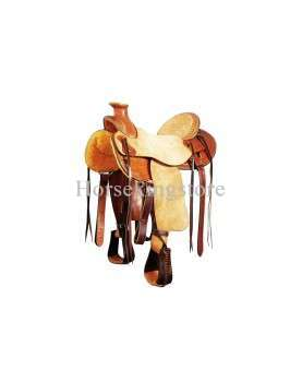 Saddle POOL'S GENUINE WADE WAFFLE BORDER 5100