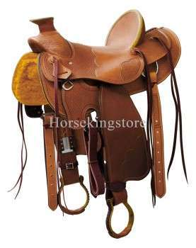 Saddle POOL'S GENUINE WADE CLASSIC 56321