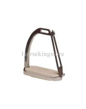 Stainless steel peacock security stirrups