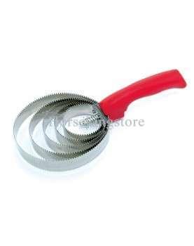 Round metallic curry