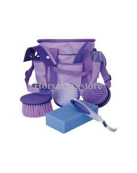 Grooming set with bag.