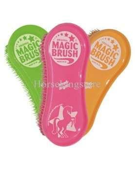 Plastic ergonomic curry comb