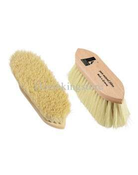 Leistner dandy brush with long natural bristles