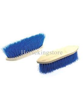 Dandy brush with short nylon bristles