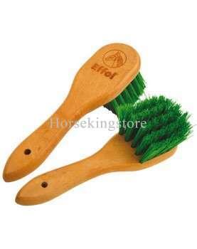 Effol wooden hoof brush with handle