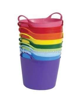 Flexible 35 Lt bucket with handles