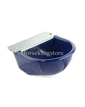 Cast iron constant water level drinking bowl with float