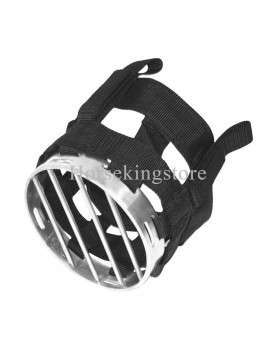 Nylon muzzle with stainless steel grid