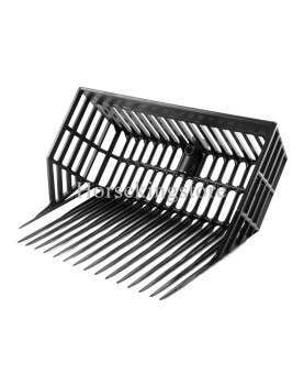 Plastic stall fork