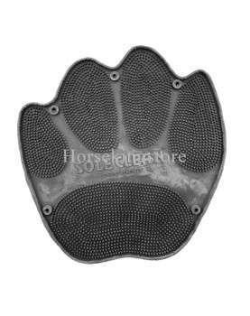 Rubber sole clean carpet