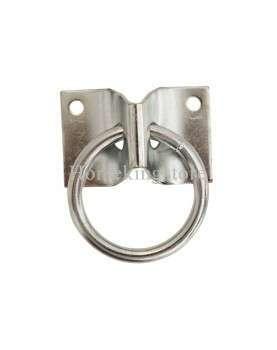 Stamped steel plate cross tie ring