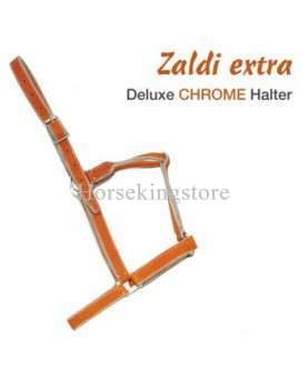 Double chrome leather bridle Zaldi