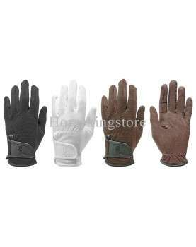 Riding gloves, velcro closure