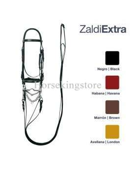 Bridle Zaldi Extra with double reins