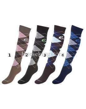 Acavallo cotton snaffle knee socks