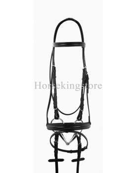 Leather bridle complete Serena