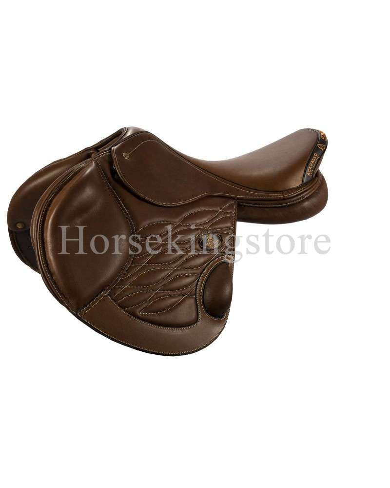 EVENTING SADDLE DOUBLE SOFTY LEATHER ACAVALLO