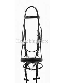 Leather bridle complete Amdra