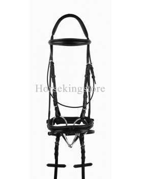 Leather bridle complete Syshim