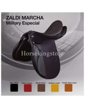 Comfort saddle ENDURANCE SPECIAL MILITARY ZALDI