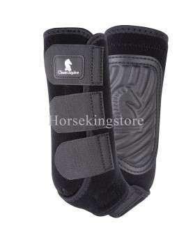 ClassicFit Boot Front Classic Equine Black