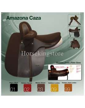 Traditionnal saddle Amazon Caza