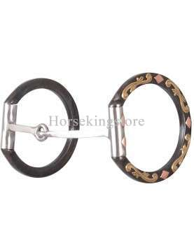 Diamond Dee Ring SQUARE SNAFFLE SHERRY CERVI