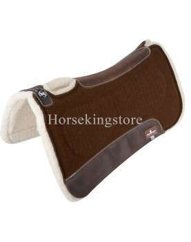 ZONE™ FELT/FLEECE PAD Brown Classic Equine