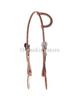 COWBOY DIAMOND HEADSTALL Martin Saddlery