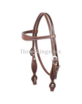 ROPE BORDER HEADSTALL Martin Saddlery