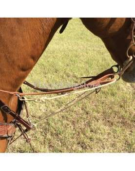 MARTINGALE WITH ROPING REINS BY PHIL HAUGEN MARTIN SADDLERY