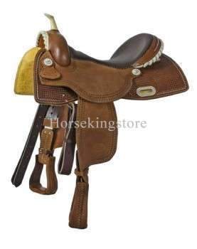 Saddle POOL'S BARREL POOL'S RAWHIDE BASKET 1840