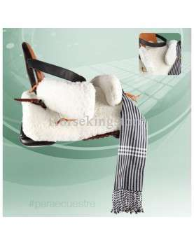 Saddle for person with a handicap in equitherapy ECO Vaquera