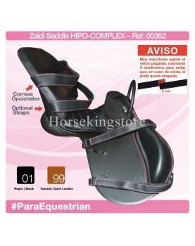 Saddle for person with a handicap in equitherapy HIPPO