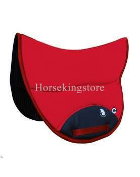 Endurance Saddle pad Burioni TexTech+Sympa Red