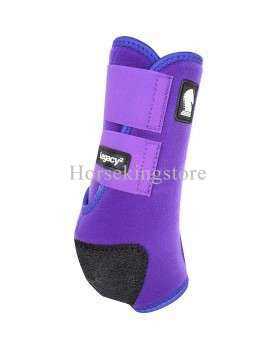 Legacy2 Front - Solid Classic Equine Purple