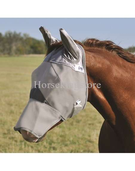 CRUSADER FLY MASK LONG NOSE with Ears Cashel