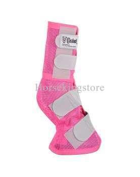 CRUSADER LEG GUARD Cashel Pink