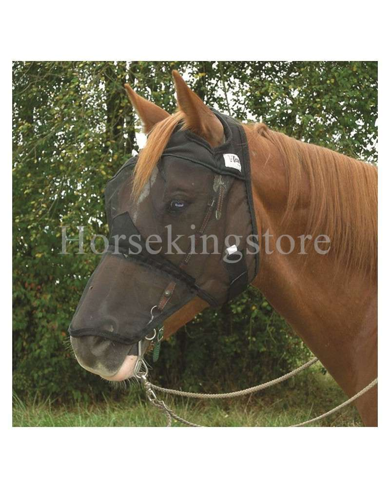 QUIET RIDE FLY MASK - LONG NOSE Cashel