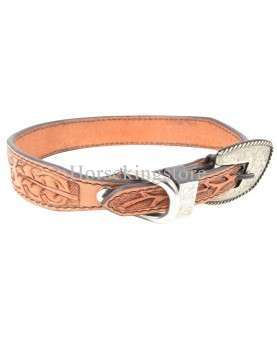 DOG COLLAR By Cashel Arcon Leaf