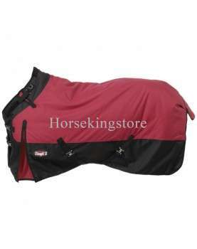 For all horses, here is a cover that does not hurt, thanks to its cut and its possibility of adjustment.