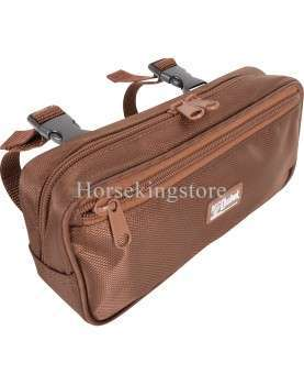 Small Pommel Bag Cashel Brown