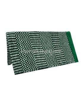 Navajo Liner Blanket 32x64 GREEN